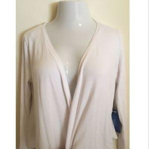 Simply Vera Wang Womens Petite Cardigan Sweater